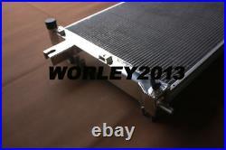Aluminum radiator + fan for JEEP GRAND CHEROKEE Commander 3.7 4.7 6.1 5.7 06-10