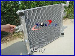 Aluminum radiator for JEEP GRAND CHEROKEE 4.7L V8 1999-2005 99 00 01 02 03 04 05