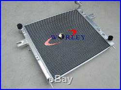 Aluminum radiator + shroud + fan for 1999-2000 Jeep Grand Cherokee WJ/WG 4.7 V8