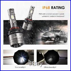Auxbeam 9005 9006 Canbus LED Headlight Bulbs Kits High Low Beam Combo 70W 8000LM