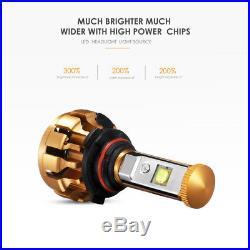AUXBEAM 9005+9006 LED Headlight Bulb Kit for Chevy Silverado 1500 2500 HD 01-06
