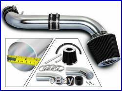 BCP BLACK 99-04 Grand Cherokee 4.7L V8 H/O Short Ram Air Intake + Filter