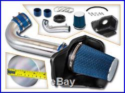 BCP BLUE 11-18 Grand Cherokee/Durango 5.7L V8 Heat Shield Cold Air Intake Kit