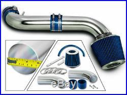 BCP BLUE 99-04 Grand Cherokee 4.7L V8 H/O Short Ram Air Intake + Filter