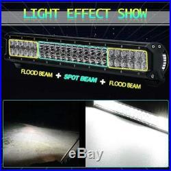 Barra de luz 25 pulgadas, 162W luces LED combo de flujo puntual. Combo FOR Ford