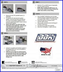 Bbk 1991-2003 Jeep Wrangler Cherokee Gc 4.0l I6 62mm High Flow Throttle Body Tb
