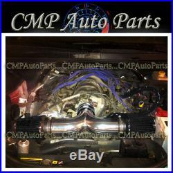 Black 2005-2010 Jeep Grand Cherokee 5.7l & 6.1l Twin Dual Air Intake Kit