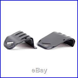 Black Universal Car SUV Roof Rail Luggage Rack Baggage Carrier Cross Aluminum x2