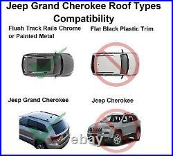 Brightlines Cross Bars Kayak Rack Roof Racks For 2011-2021 Jeep Grand Cherokee