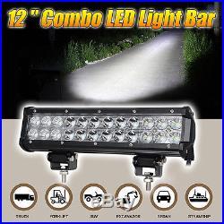 CREE 7x6 LED Headlights+12 LED Driving Light Bar for Jeep Cherokee XJ YJ Bumper