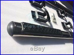Chrome aluminium for JEEP Grand Cherokee2011-15 running board side step nerf bar