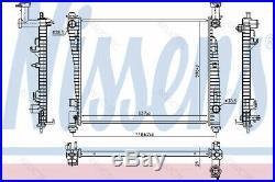 Coolant Radiator JeepGRAND CHEROKEE IV 4 55038001AG 55038001AH R14452