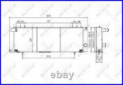 Coolant Radiator for JeepCHEROKEE, GRAND I 1 53001174 52029100