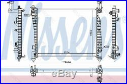 Coolant Radiator for JeepGRAND CHEROKEE IV 4 55038001AG 55038001AH R14452