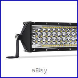 FIve- Row 32Inch 3264W LED Work Light Bar Flood Spot Beam Offroad Truck SUV 30