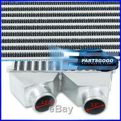 Front Mount Turbo Intercooler Fmic Twin Core 30x11x3 Bar Plate For 370Z