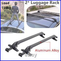 Genuine Aluminum Alloy Roof Top Rack Bar Luggage Rack Luggage Rack Cross Bars