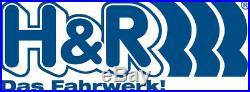 H&R Spurverbreiterung 50/60mm silber für Jeep Grand Cherokee Typ WK