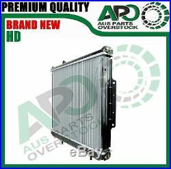 Heavy Duty Radiator For JEEP GRAND CHEROKEE WJ WG 2.7L 3.1L Diesel 4/1999-2005