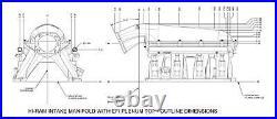 Holley GEN III HEMI Hi-Ram EFI Manifold 300-651