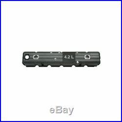 Jeep Cj Cj5 Cj7 81-86 New 6 Cyl Aluminum Valve Cover Black X 17401.08