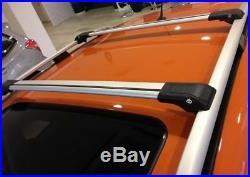 Jeep Grand Cherokee 2005-2011 Anti Theft Aluminium Cross Bar Rack 75 KG Grey