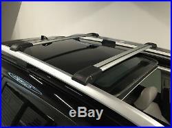 Jeep Grand Cherokee Anti Theft Aluminium Cross Bar Rack 75 KG Loading Capacity