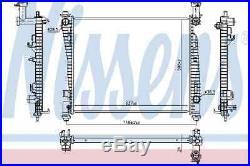 Kühler Motorkühlung Für Jeep Grand Cherokee IV Wk Wk2 Ezh Nissens 55038001ag
