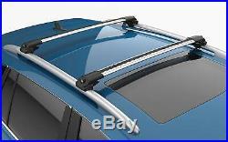 Lockable Aluminium Roof Rack Bar Cross Bar For Jeep Grand Cherokee (2011-2018)
