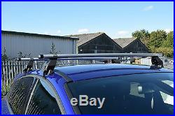 MWay Aluminium Roof Rack Rail Cross Bars to fit Jeep Grand Cherokee 14 + Kit 12