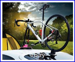 NEW Bicycle Rack Suction Roof-Top Bike Car Racks Carrier Quick Installation Roof