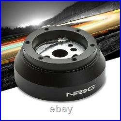 NRG SRK-170H Short Steering Wheel Hub Adapter Black For Jeep Cherokee/Renegade