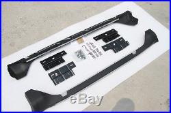 New Aluminium fit JEEP Grand Cherokee 2011-2018 running board side step nerf bar