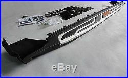 New Aluminium for JEEP Grand Cherokee 2011-16 running board side step nerf bar N