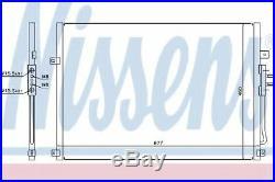 Nissens Condenser, AC air conditioning 94464 Replaces 55115918AB, 55115918AC
