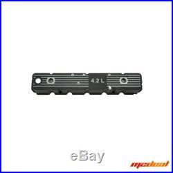 OMIX-ADA 17401.08 Black Aluminum Valve Cover With 4.2L Logo 80-87 Jeep Models