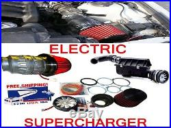 Performance Electric Air Intake Supercharger Power Kit Fit For Hyundai + Genesis