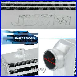 Polished Universal Intercooler For Turbocharger / Supercharger (31x11.75x3)