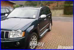 Pour 2005 2010 jeep Grand Cherokee Aluminium Marchepieds Latéraux
