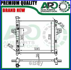 Premium Quality Radiator JEEP GRAND CHEROKEE WJ / WG 6Cyl 6/99-6/05 + Free Cap