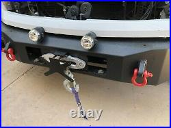 Quick Release Plate Bracket All JEEP Off Road Bumpers with Hawse(Plate) Fairlead