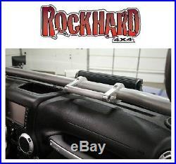 Rock Hard 4X4 6 Aluminum Ultimate Sport Cage Grab Handle 76-18 Jeep RH-1020-S