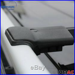 Roof Rack Cross Bars Luggage Carrier Black for Jeep Grand Cherokee WK 2005-2010