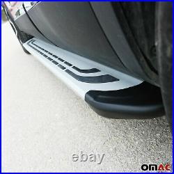 Side Steps Running Boards Nerf Bars Aluminum For Jeep Grand Cherokee 2011-2021