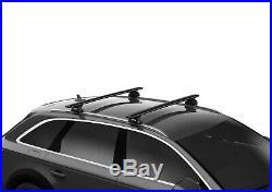 Thule Roof Rack Evo 7106 7112B 6027 Aluminium Sw for Jeep Grand Cherokee 2011