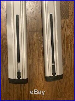 Thule aluminium ARB47 AeroBlade 47 47 load bars cross bars READ