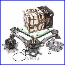 Timing Chain Kit (JTEC) Water Oil Pump Fit 99-02 Dodge Jeep 4.7