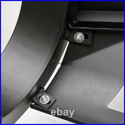 Topline For 2008-2010 Jeep Grand Cherokee AVT Aluminum LED Bull Bar -Matte Black