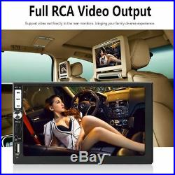 Touchable Screen 2 DIN 7'' inch MP5 Player Car Radio Stereo Player FM bluetooth