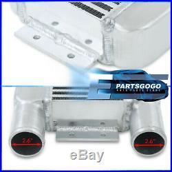 Universal 23X11.25X2.75 Front Mount Intercooler Turbocharge Bar & Plate Turbo